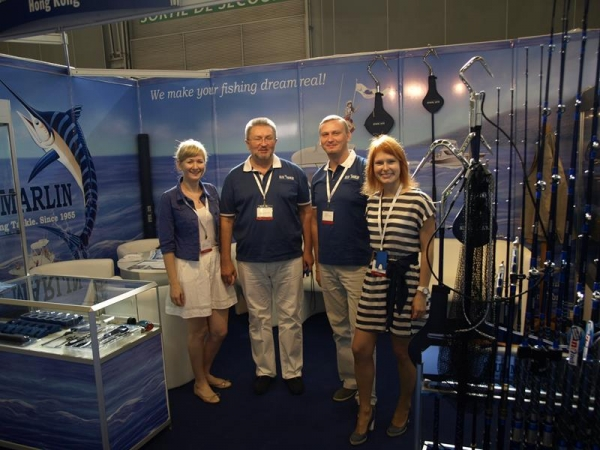 "Our editorial on web-site of Angling International ""EFTTEX 2012: Blue Marlin ready to go global after sensational show"