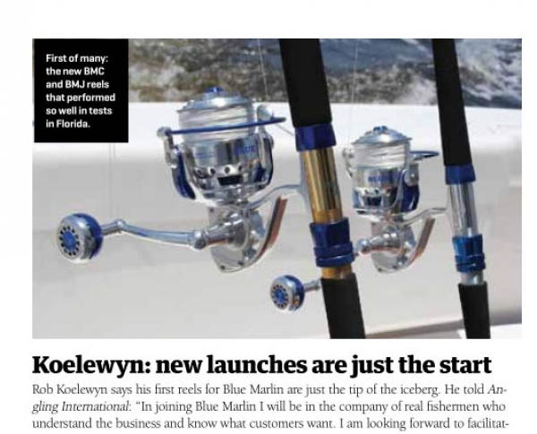 Robert  Koelewyn: new launches are just the start
